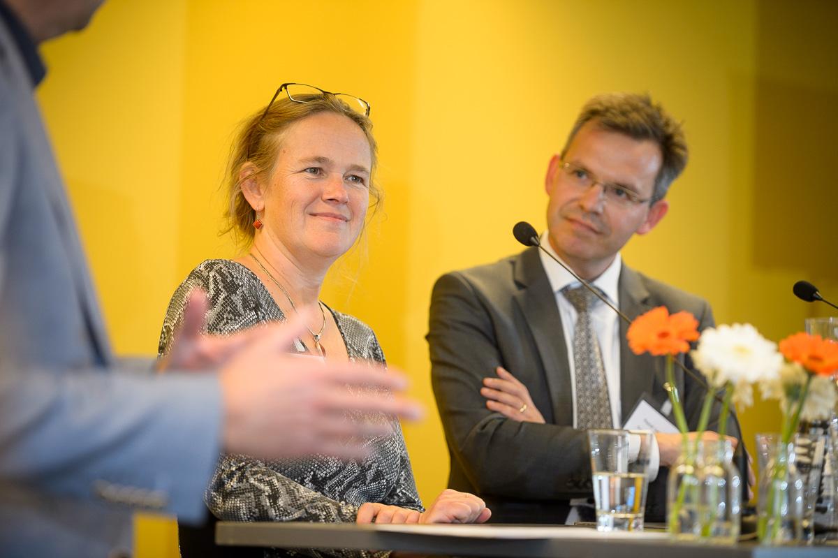 Auteurs Pascal Lamberigts en Liesbeth Schipper (c) Rogier Bos
